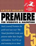 Pdf Premiere 6.5 for Windows and Macintosh