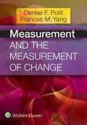 Measurement and themeasurement of change (2016)