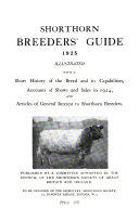 Shorthorn Breeders Guide