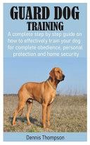 Guard Dog Training