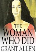 The Woman Who Did Pdf/ePub eBook