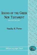 Idioms of the Greek New Testament