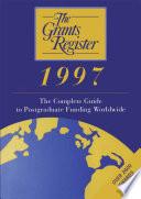 The Grants Register 1997