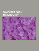 Computer Book Introduction