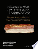 Advances in Meat Processing Technologies  Modern Approaches to Meet Consumer Demand
