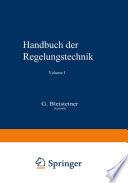 Handbuch der Regelungstechnik