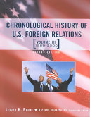 Chronological History of U S  Foreign Relations  1981 2000