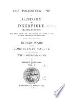 A History of Deerfield, Massachusetts