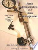 Acute Critical Events Simulation Aces  Book PDF