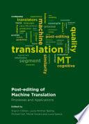 Post editing of Machine Translation Book