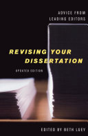 Revising Your Dissertation  Updated Edition