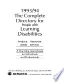 The Complete Directory for People with Learning Disabilities