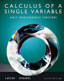 Calculus of a Single Variable  Early Transcendentals Functions  AP  Edition