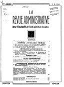 La Revue administrative