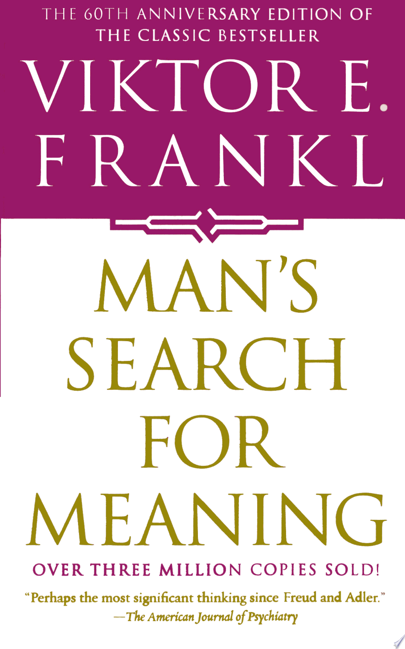 Man's Search For Meaning image