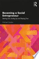 Becoming a Social Entrepreneur