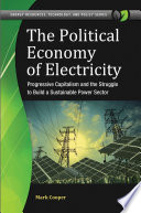 The Political Economy of Electricity  Progressive Capitalism and the Struggle to Build a Sustainable Power Sector Book