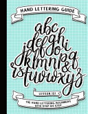 Hand Lettering Guide