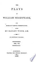 The Plays Of William Shakespeare King Henry Iv Parts 1 2 King Henry V
