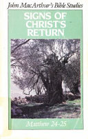 Signs of Christ s Return Book