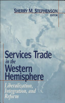 Services Trade in the Western Hemisphere