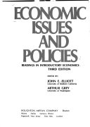 Economic Issues And Policies