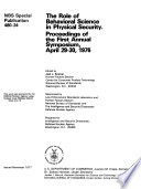 The Role of Behavioral Science in Physical Security