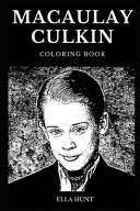 Macaulay Culkin Coloring Book