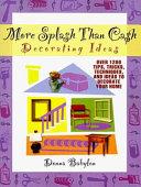 More Splash Than Cash Decorating Ideas