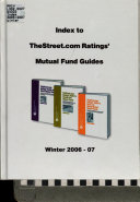 Index to TheStreet.com Ratings' Mutual Fund Guides ebook