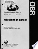 Marketing in Canada