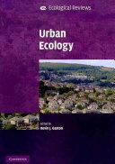 Urban Ecology Book