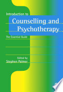 Introduction to Counselling and Psychotherapy Book