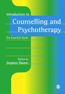 Introduction to Counselling and Psychotherapy