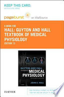 Guyton and Hall Textbook of Medical Physiology - Pageburst E-book on Vitalsource Retail Access Card