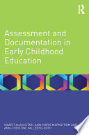 Assessment and Documentation in Early Childhood Education Book