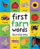 First Farm Words Book PDF