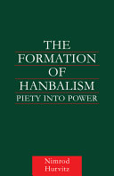 Pdf The Formation of Hanbalism Telecharger