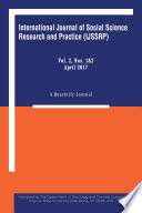 International Journal Of Social Science Research And Practice