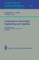 Contemporary Knowledge Engineering and Cognition