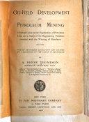 Oil field Development and Petroleum Mining