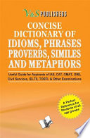 CONCISE DICTIONARY OF ENGLISH COMBINED (IDIOMS, PHRASES, PROBERBS, SIMILIES)