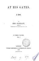 At his gates