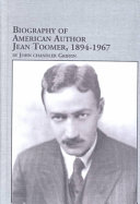 Biography Of American Author Jean Toomer 1894 1967