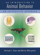 An Introduction to Animal Behavior ebook