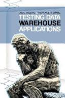 Pdf Testing Data Warehouse Applications