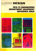 1972 73 Engineering Department Equipment Reference Issue