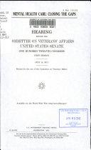 Va Mental Health Care Book PDF
