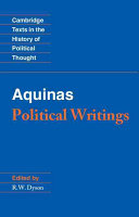 Aquinas: Political Writings