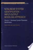 Nonlinear system identification  1  Nonlinear system parameter identification